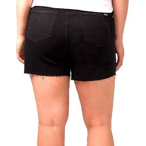 Melissa McCarthy Seven7 Shorts - 🆕 LANE BRYANT Plus 18 20 22 24 Black Denim Shorts